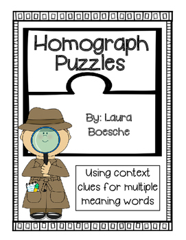 Homograph Puzzles