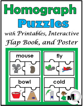 homographs puzzles printables interactive flap book and poster. Black Bedroom Furniture Sets. Home Design Ideas