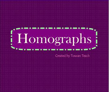 Homograph SMARTBoard Activities