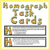 Homograph Task Cards 27 cards with 24 homographs!