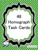 Homograph Task Cards--48 in All