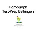 Homograph Test-Prep Bellringers Power Point