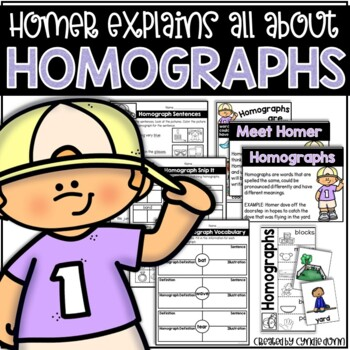 Homographs (Multiple Meaning Words) Activities