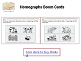Homographs Boom Cards
