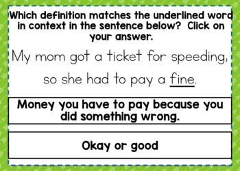 Homographs Digital BOOM Task Cards