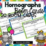 Homographs Digital BOOM Task Cards