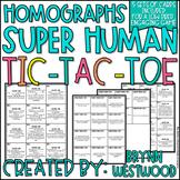 Homographs SUPER Human Tic-Tac-Toe (5 sets of cards included)