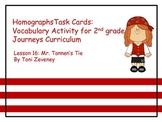 Homographs Task Cards for Journeys Grade 2
