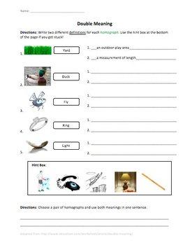 Homographs Assessment