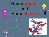 Homographs and Homophones Power Point