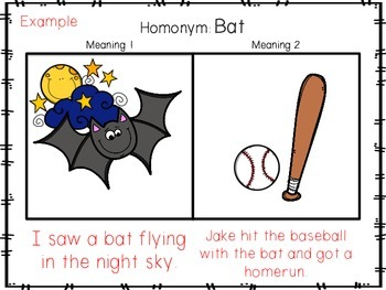 Homonym Activity