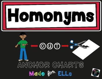 Homonym Anchor Charts