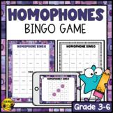 Homonym Bingo