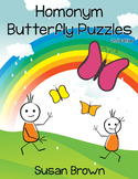 Homonym Butterfly Puzzles, 2nd Edition