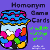 Homonyms: A Multiple Meanings Word Game