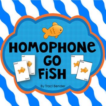 Homonym Go Fish