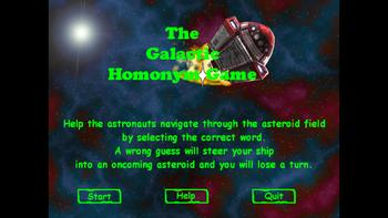 Homonym Video Game