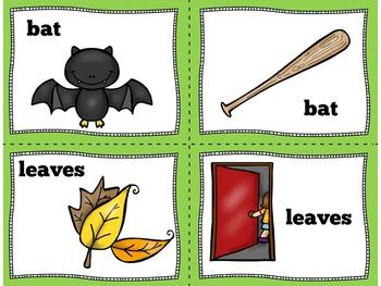 Homonyms Activities | Homonyms First Grade
