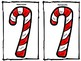 Homonyms, Antonyms, Synonyms - Candy Cane Vocabulary Cards & Game