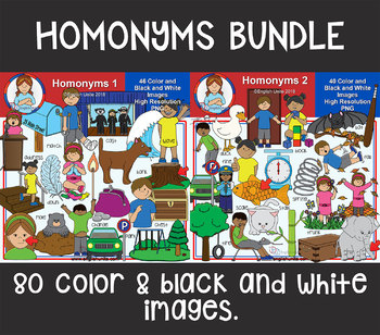 Clip Art - Homonyms Bundle