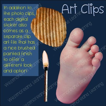 Homonyms Clip Art Photo & Artistic Digital Stickers