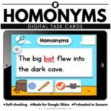 Homonyms Digital Learning Google Seesaw