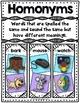 Homonyms Flap-Books