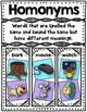 Homonyms Flap-Books