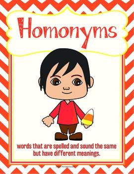 Homonyms Game Pack