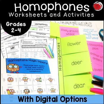 Homonyms: Homophones Activities
