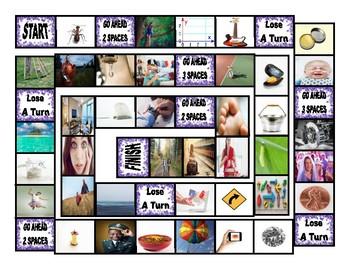 Homonyms-Homophones Board Game 3