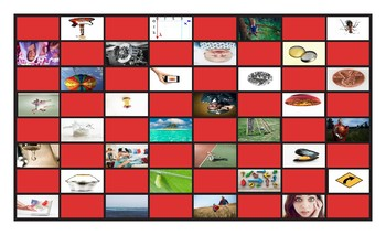 Homonyms-Homophones Checkerboard Game 3