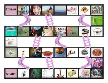 Homonyms-Homophones Chutes-Ladders Game 3