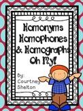 Homonyms, Homophones, & Homographs- Oh My!