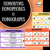 Homonyms, Homophones & Homographs Poster Series