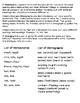 Homonyms: Homophones and Homographs