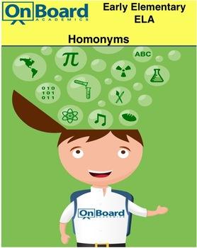 Homophones  K-3 - Interactive Lesson