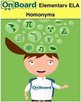 Homonyms-Interactive Lesson