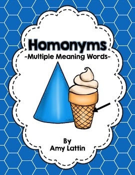 Homonyms (Multiple Meaning Words)