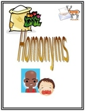 Homonyms Packet