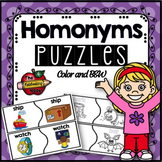 Homonyms Puzzles