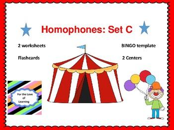 Homophones Set C