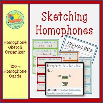 Homophones Word Work