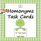 Homonyms Task Cards