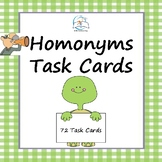 Homonyms Task Cards