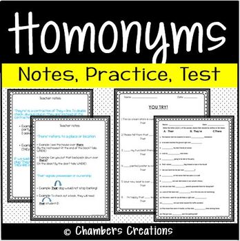 Homonyms: Their, They're, There -- Commonly Misspelled Words