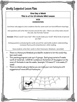 Homographs Worksheets - Homonyms Word Webs