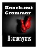 Homonyms- Worksheet Pack!