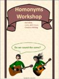Homonyms Workshop