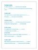 Homonyms by Alphabet Letter Quiz/Worksheet!